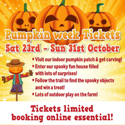 Pumpkin week tickets
